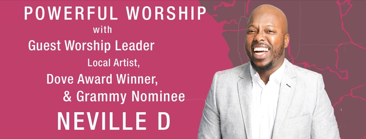 Powerful worship with NEVILLE D