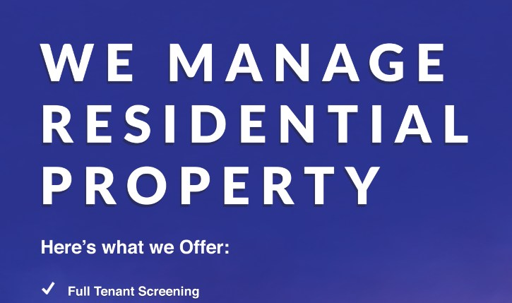 We Manage Residential Property