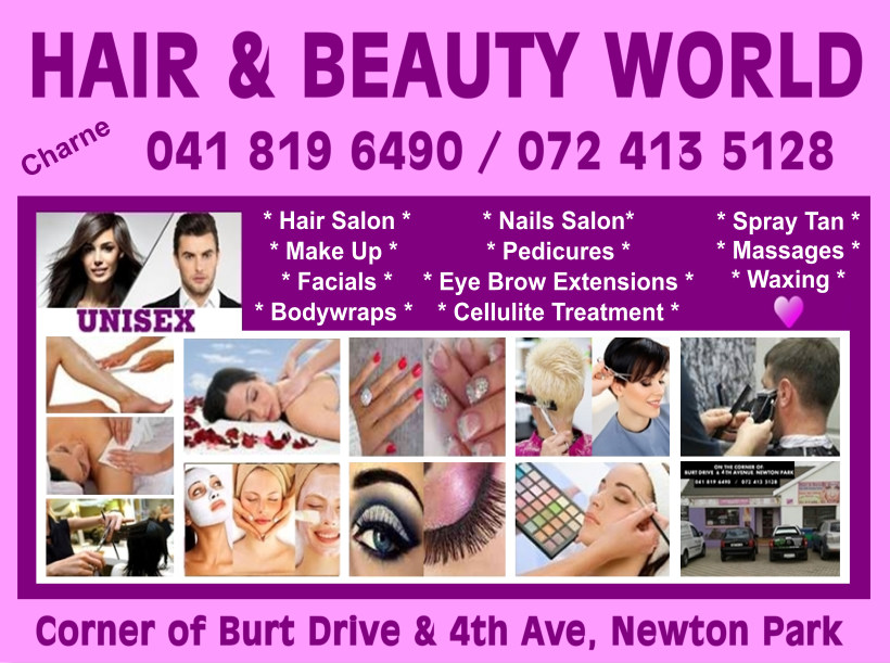 Hair & Beauty World Unisex Salon