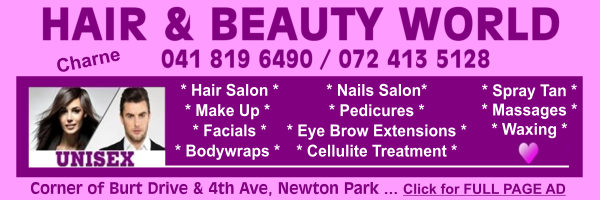 Hair & Beauty World - Unisex Salon | 041 819 6490 / 072 413 5128