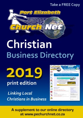 Front cover of Christian Business Directory booklet