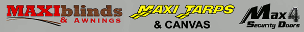 Maxiblinds & Awnings | Maxi Tarps & Canvas | Max 4 Doors