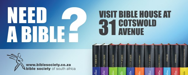 Need a Bible? Visit Bible House at 31 Cotswold Avenue | Bible Society of South Africa